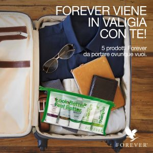 travel kit della forever living